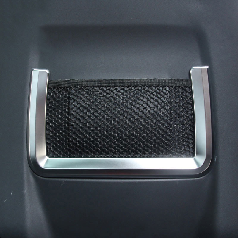For Land Rover Range Rover Evoque 2012-2017 Car-styling ABS Chrome Interior Seat Back Frame Cover Trim Accessories Set of 2pcs newest for land rover range rover evoque abs center console gear panel chrome decorative cover trim car styling 2012 2017 page 8