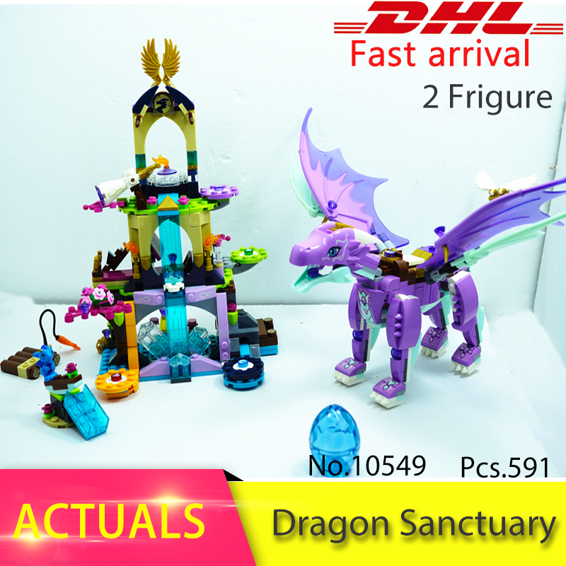 The Dragon Sanctuary Friends 41178 Building Block Model Toys for Children 10549 Compatible legoing Elves Figure Fairy Set Gift hot elves long after the rescue ction fairy building block model compatible lepins