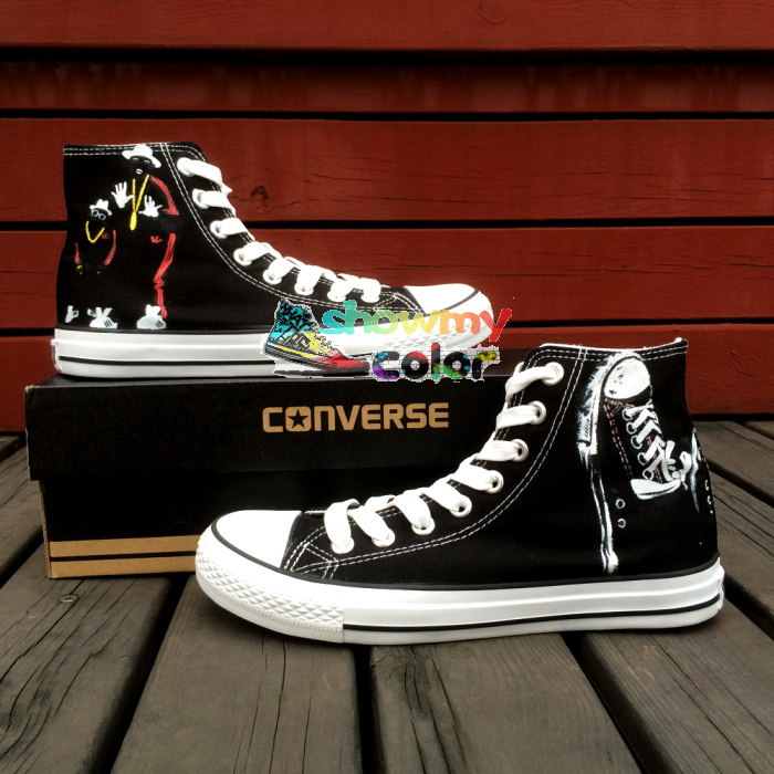 Prix pour Conception fraîche D'origine Converse Chuck Taylor Personnalisé Peint À La Main Chaussures Hommes femmes Sneakers