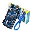 Nova Mega 2560 R3 Board 2015 Versão Offcial com Chip ATMega16U2 para Arduino Motorista Integrado com Caixa de Varejo e USB