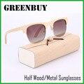 Grife de luxo Óculos De Sol com Caixa de 2016 Homem Mulher/mulheres Óculos Polarizados Condução de Pesca Ao Ar Livre oculos de sol masculino