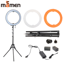 Photography Light LED Selfie Ring Light 18 inch YouTube Photo light Dimmable Ring Lamp 55W 240PCS For Makeup Video Live Studio neewer 18 inches 55w 5500k dimmable led ring light light stand bluetooth receiver for smartphone youtube selfie makeup light