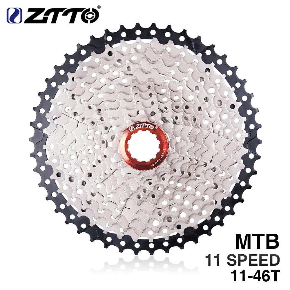 ZTTO 11s Cassette 11-46T Freewheel MTB Mountain Bike Bicycle Parts 11speed 11v Flywheel for Shimano M9000 XT SLX R gx x1 xo free shipping original ltwoo mountain bike transmission 11speed 34t 36t 38t ltwoo x1 m8000 xt