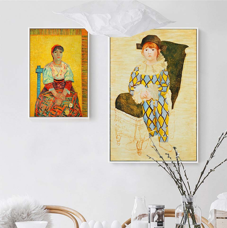 Print Canvas Decoration Picture Wall Art Poster Canvas Painting for ...