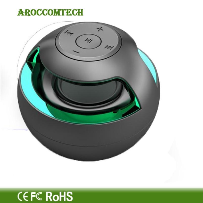 два цвета черный и белый с bluetooth для беспроводной динамик для смартфонов и таблетки на 360o звук красочные свет мерцание бесплатная доставка