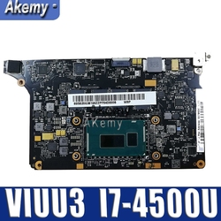 Płyta główna laptopa Akemy 5B20G38213 VIUU3 NM A074 I7 4500/i7 4510U CPU 8 GB pamięci RAM originais mothebroard w Płyty główne od Komputer i biuro na