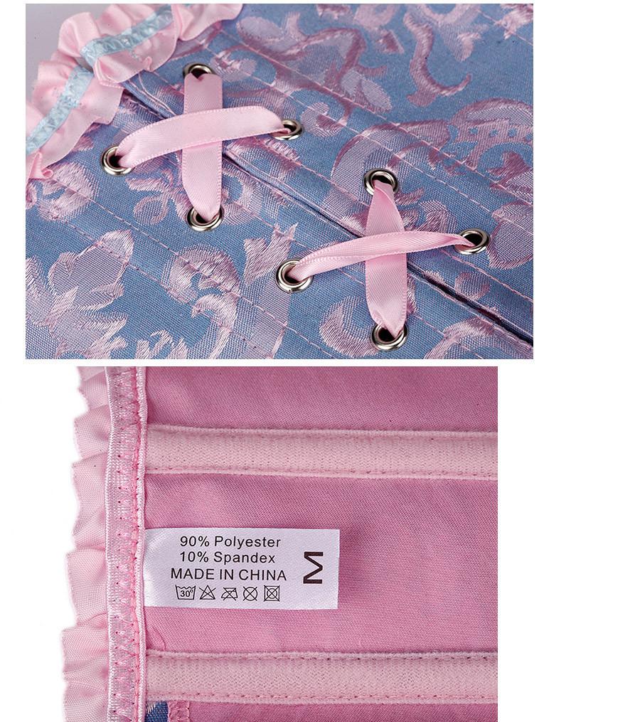 2016 горячая распродажа пижамы корсет топы стали бюстье белье талия обучение корсеты оптовая продажа