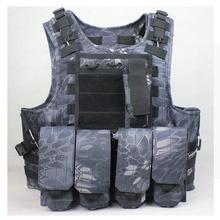 Tactical Combat Vest Airsoft vest military molle vest swat modular tactical combat vest Typhon