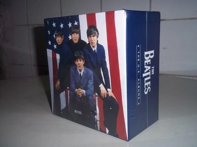 2015 New Version the Beatles CD 13cd Discs with THE U.S. Albums beatles music cd box free Shipping шатура стол журнальный миледи тёмно коричневый