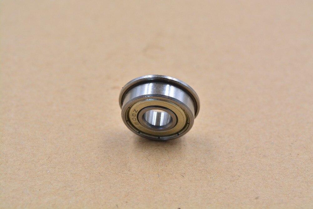 F608ZZ 8mm X 22mm X 7mm con bridas blindado Surco Profundo Cojinete de bolas
