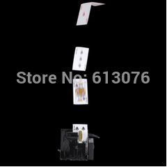 Remote spray card machinery/bill device, Metal stage magic/magic props/as seen on tv High quanlity spa массажер as seen on tv sonic