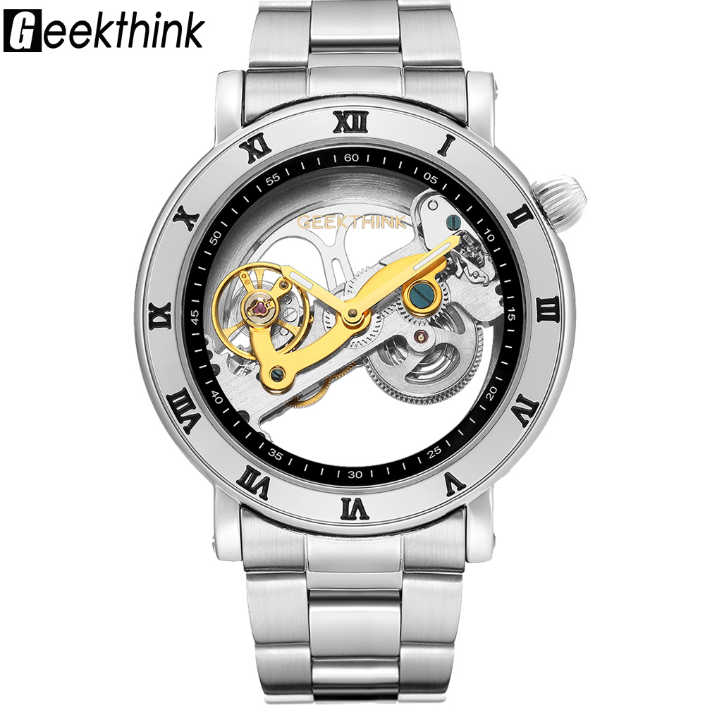 Top brand Skeleton Tourbillon automatic Mechanical Watch Men's luxury business men Wristwatch self wind Relojes Steampunk tourbillon business mens watches top brand luxury shockproof waterproof skeleton watch men mechanical automatic wristwatch