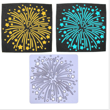 YINISE 1113 Fireworks Metal Cutting Dies For Scrapbooking Stencils DIY Album Cards Decoration Embossing Folder Die Cuts Tools