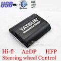 Yatour Bluetooth Автомобильный Адаптер Для Alpine AI-NET Головных Устройств YT-BTA Hand free A2DP ПРИВЕТ-FI USB Зарядки порт