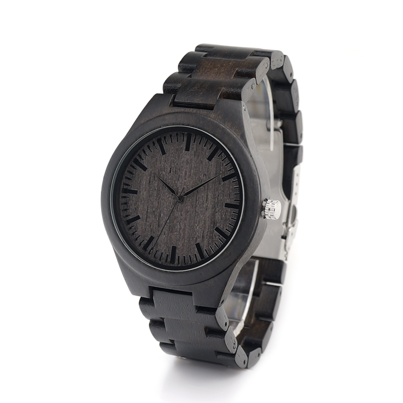2017 Luxury Brand BOBO BIRD Men Watches All From Wood Quartz Watch Wooden Band Wristwatch relogio masculino bobo bird luxury designer watches men style wooden watch wood strap wristwatch with paper gift box relogio masculino brand top