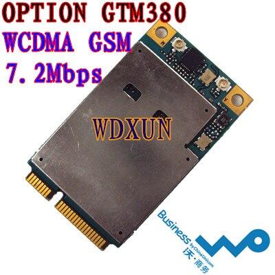 OPTION GTM380 3G WWAN MINI PCI-E ΑΚΥΡΩΣΗ ΚΑΡΤΩΝ ΑΣΦΑΛΕΙΑΣ HSDPA WCDMA 7.2M GTM378 3G NET