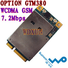 OPTION GTM380 3G WWAN MINI PCI-E WIRELESS CARD EDGE HSDPA WCDMA 7.2M GTM378 3G NET