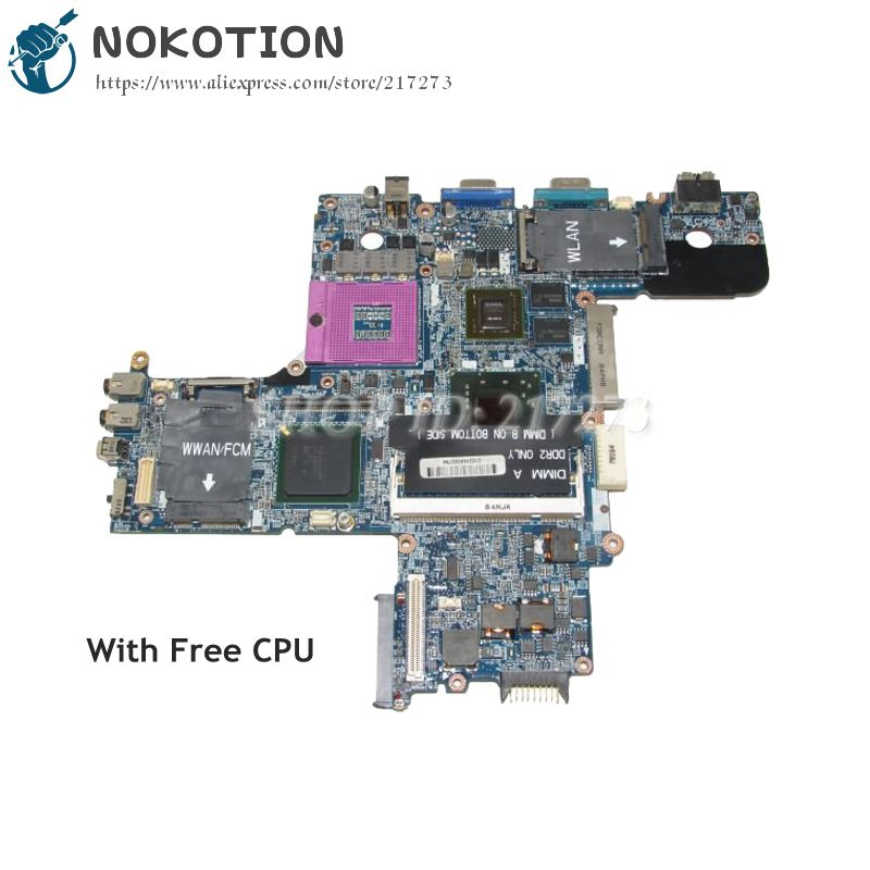 цена NOKOTION For Dell Latitude D630 Laptop Motherboard 965PM DDR2 Quadro NVS 135M Free CPU CN-0R872J 0R872J CN-0PN302 0PN302 0PN302