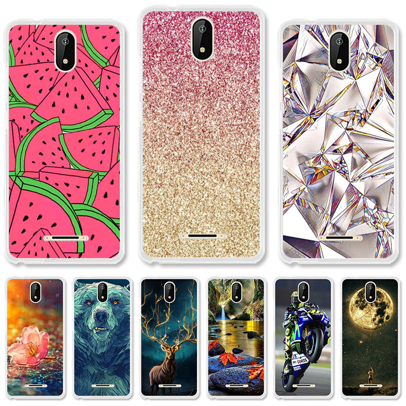 TAOYUNXI Soft TPU Case For Micromax Bolt Supreme 6 Q409 Cases For Micromax  Q409 Spark 5.0 inch Silicone DIY Painted Covers fd0fc15f383c