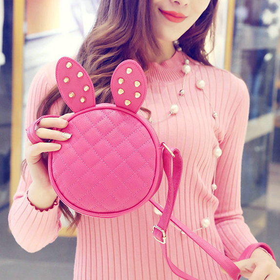 Hot Baby Girls Pink Lady Toddler PU Handbag Kids Shoulder Bag Children Crossbody Bag Purse women mini bag For 6 S Phone clutch