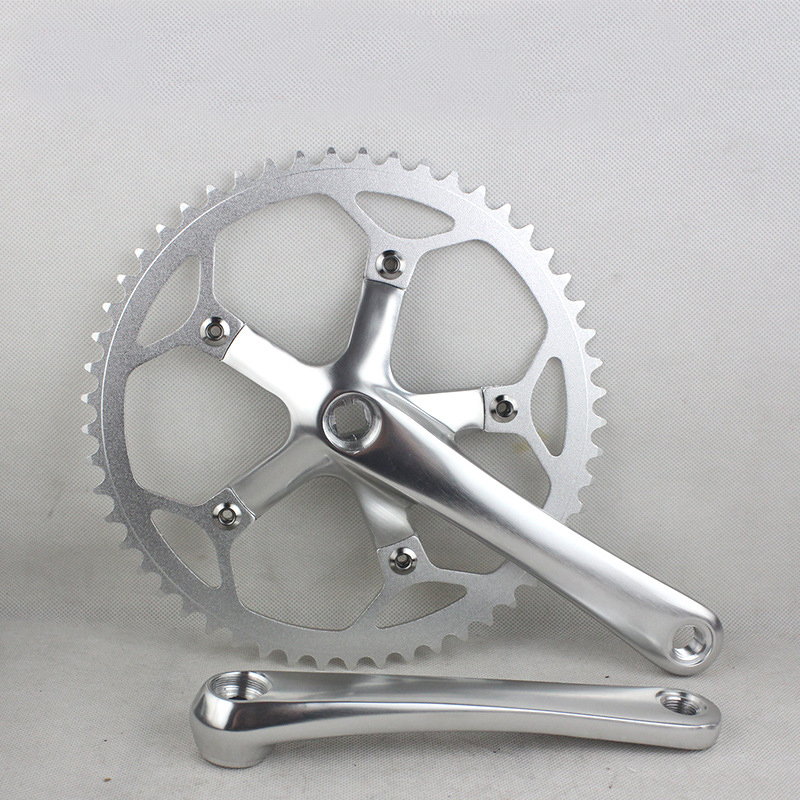 BMX 53T Gear tooth disc 130BCD Chainring Sprocket Folding Bike Crankset 53T Single Speed folding bicycle crank