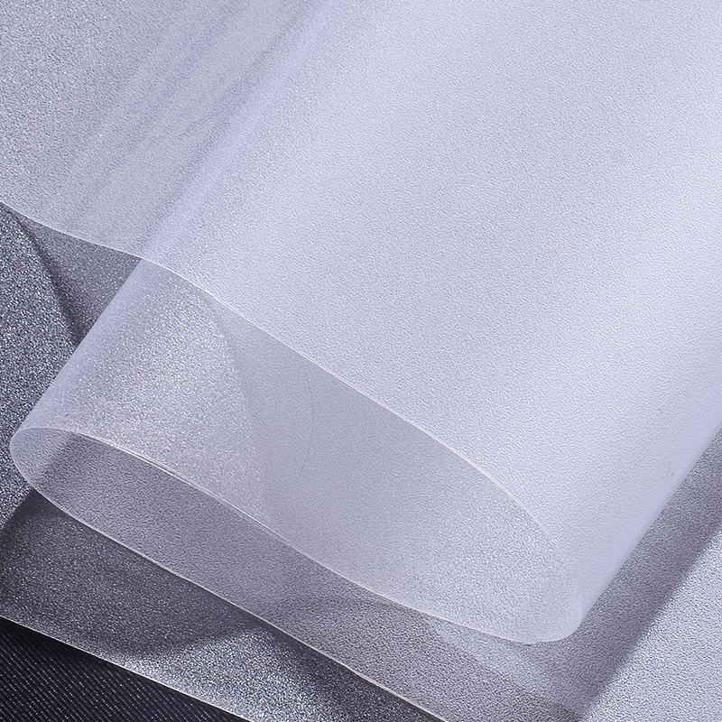 No Glue Glass Window Film Frosted Privacy Decorative Static Cling Self-adhesive Easily Remove Window Sticker Pure matte