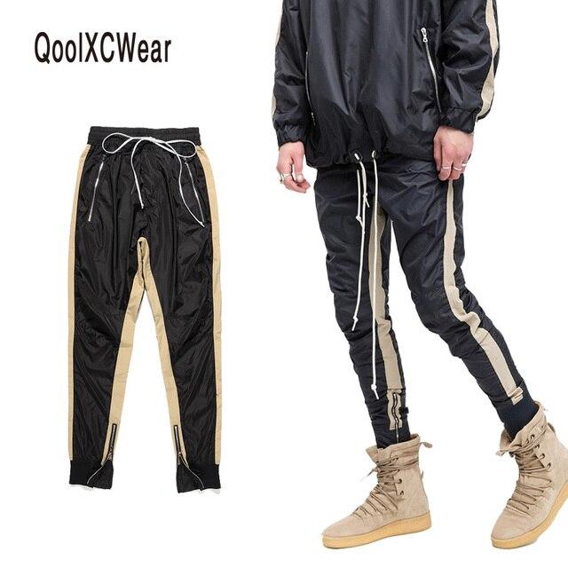 Pluderhosen Herren Hosen In Hop Mit Qoolxcwear 98qoolxcwear Joggers Jogginghose Seite Stripe Männer Hip Streetwear Us48 FJcuK3Tl1