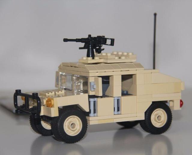 Humvee 235pcs