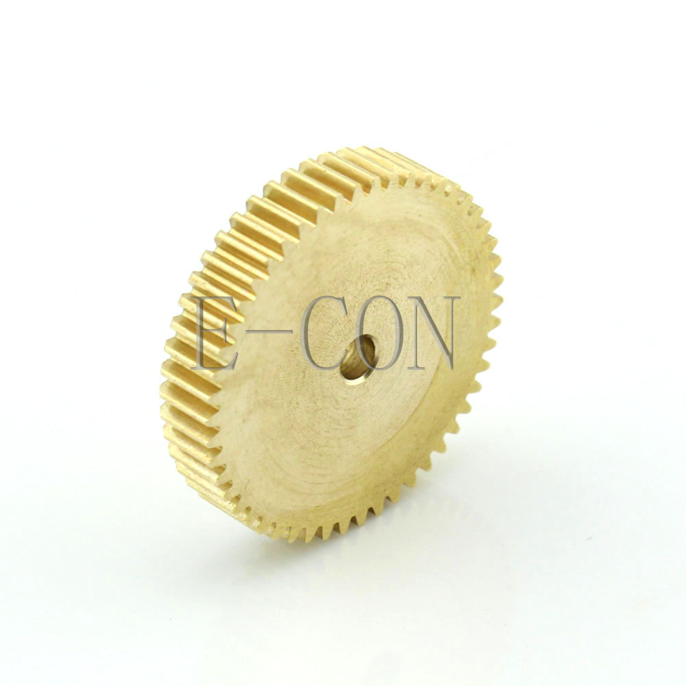Number of Teeth: 50 Teeth; Hole Diameter: 6mm Power Transmission 1pcs 0.5M50T 3-12mm Bore Hole 50 Teeth Width 5mm Module 0.5 Motor Metal Spur Gear Widely Used in Hardware and molds