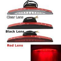 LED Tylne Hamulec Tylny Błotnik Tip Tail Light Red/Dymu/Clear Lens dla Harley Softail FXSB Breakout 2013-2017 2016 2015 2014