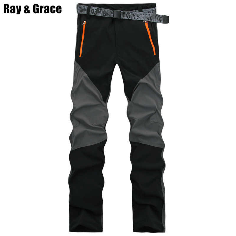 26e9202cc88a ... RAY GRACE Hiking Pants Men Summer Waterproof Outdoor Stretch Quick Dry  Pants Trekking Fishing Trousers Hunting ...