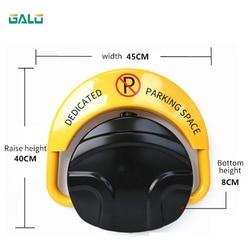 2 remote folding veiligheid Met automatische sensor met parkeerplaats slot barrière guard kolom met slot en bolt (exclusief batterij)