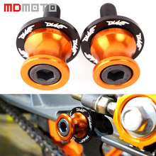 For ktm duke 390 200 125 690 duke390 frame slider Screw Motorcycle CNC Swingarm Swing Arm Spools Spool Sliders Stand Bobbins(China)