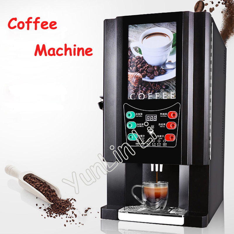 Instant Coffee Machine Commercial Automatic Office Coffee Drinks Machine Milk Tea One Machine(Hot and Cold Drinks) 33-SC стоимость