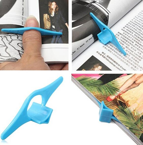 New Style Thumb Book Holder Convenient Multi Function Bookmark Finger Ring Bookends For Books Student Kids Stationery Gift