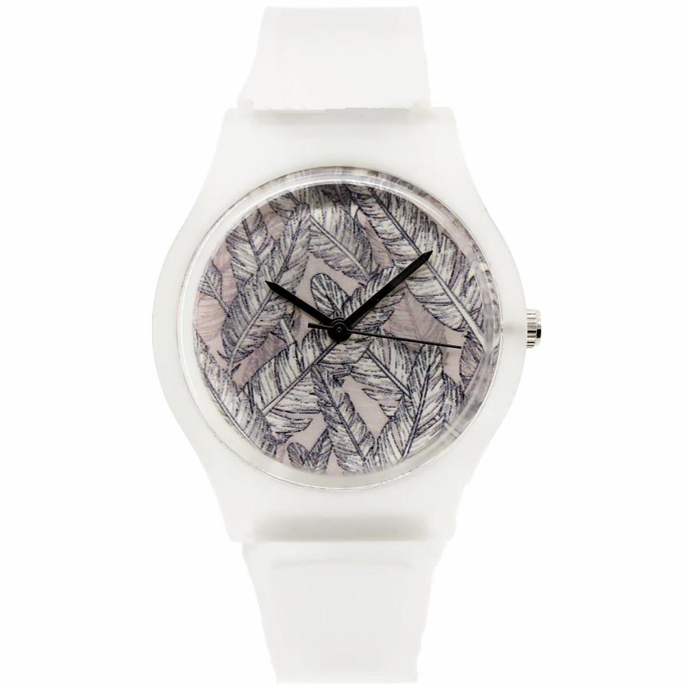 WILLIS Reloj de Los Niños de Moda de Las Mujeres Reloj de pulsera Transparente Correa Mate Reloj Deportivo Vida Resistente Al Agua Regalo Relogios PENGNATADO