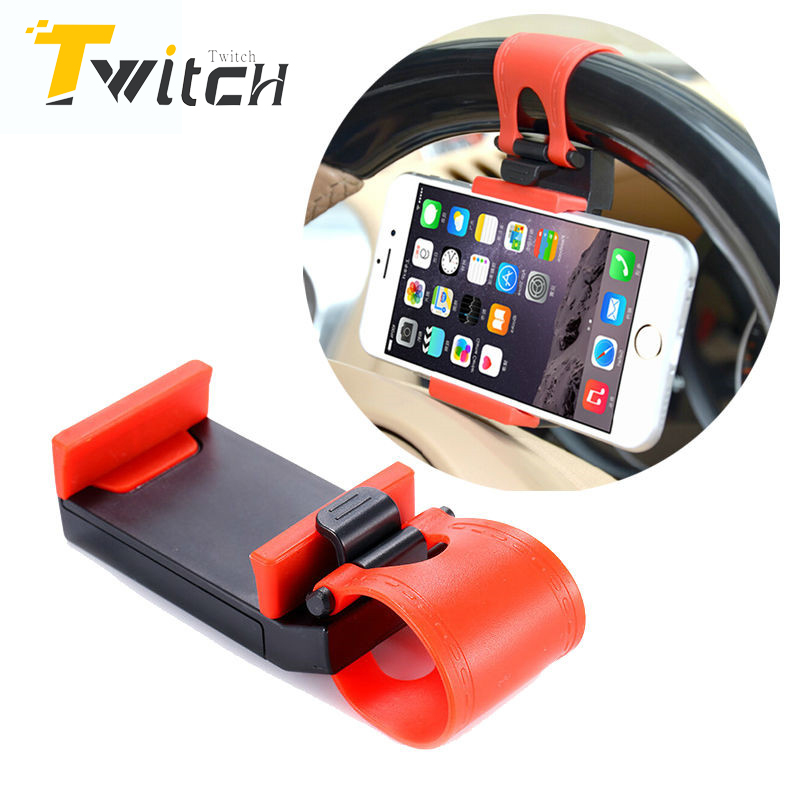 Car Accessories Steering Wheel Mobile Phone Holder Bracket For iPhone 6 5 5S 4 4s For