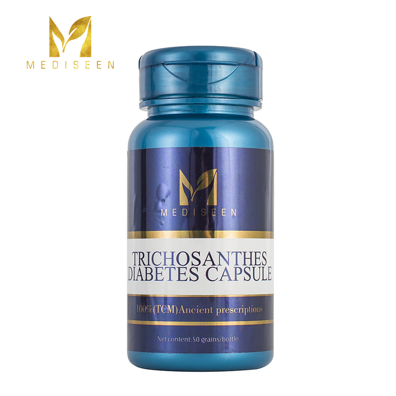 Mediseen Trichosanthes Diabetes Capsule, Cure Acute And Chronic Diabetes Mellitus, Cure Glucose And Lipid Disorders, 50pcs