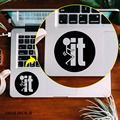 """F*ck it Humor Notebook Touchpad Decal Laptop Sticker Trackpad Sticker for 11"""" 12"""" 13"""" 15 """" Macbook Air / Pro / Retina Cool Decal"""
