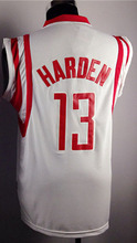 13 James Harden shirt, Cheap t shirt James Harden REV 30, Vintage Throwback Embroidery Logos, Free Shipping