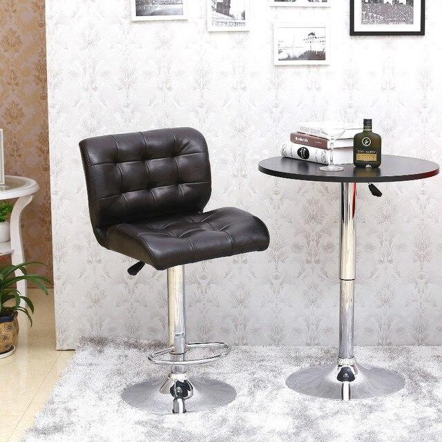 Европейский высокого класса стул отдыха многофункциональный поворотный стул спинкой стулья подъемные бар стул барный