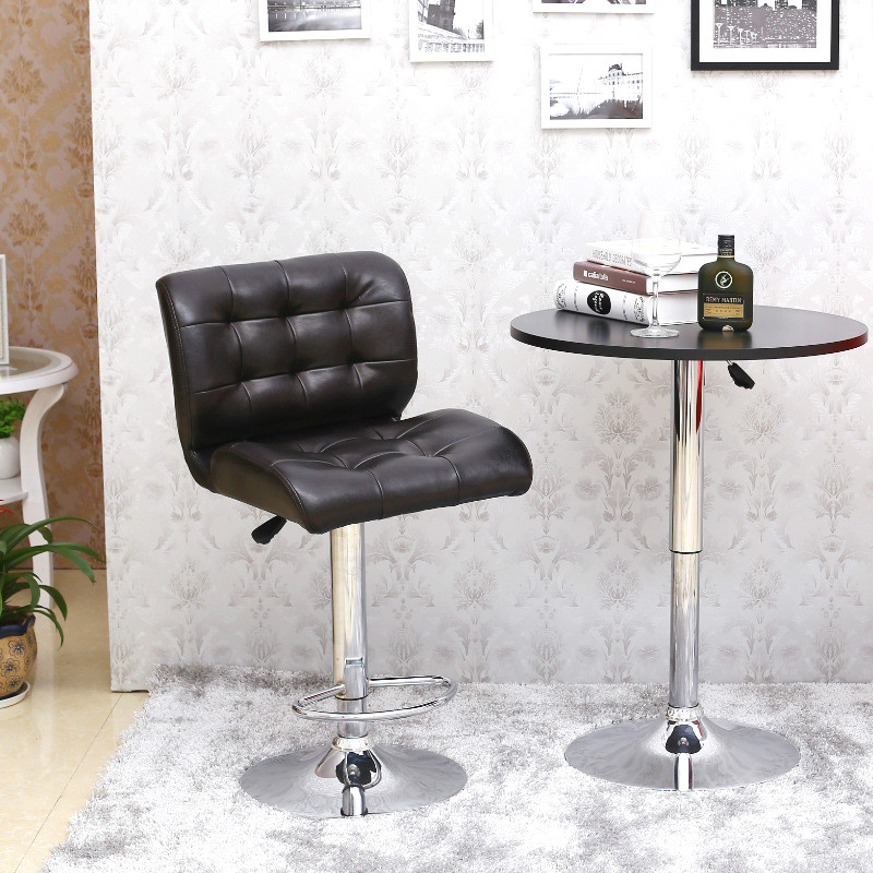 European high-end leisure chair multifunctional rotary chair backrest chairs are lifting bar bar chair iron art bar chair european style bar chair lifting high footstool household backrest stool