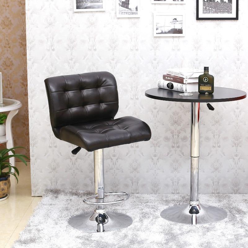 European High-end Leisure Chair Multifunctional Rotary Chair Backrest Chairs Are Lifting Bar Bar Chair