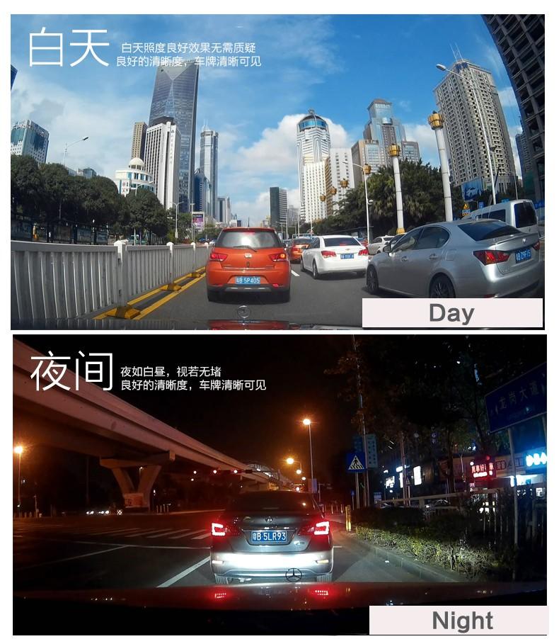Jansite Car DVR Camera Review Mirror FHD 1080P Video Recorder Night Vision Dash Cam Parking Monitor Auto Registrar Dual Lens DVR 20