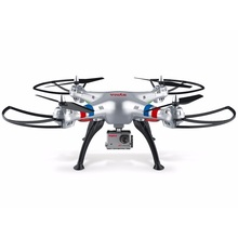 SYMA X8G drones with 4k wifi camera hd 1080p Quadcopter 2.4g 4ch 6-axis rtf rc helicopter with colorful flashing lights