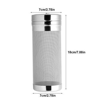 Coador de Aço inoxidável Filtro de Lúpulo Hop 304 Para Fermentação de Vinho Ou Sidra Fazendo Acessórios