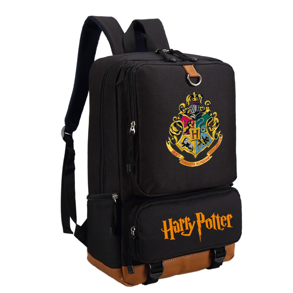 harry potter school bags book backpacks children bag. Black Bedroom Furniture Sets. Home Design Ideas