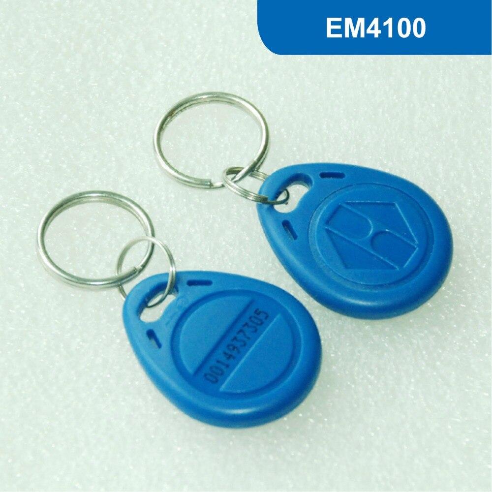 KT02 RFID KEY Tag RFID LOW Frequency 125KHZ, TK4100/EM4100 Chip Read Only Free Shipping