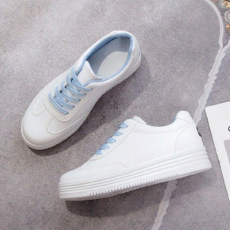Épaisses bleu De Sport Semelles Nouvelle Sauvages Noir Chaussures Plates À rose Printemps v4YqBwOx