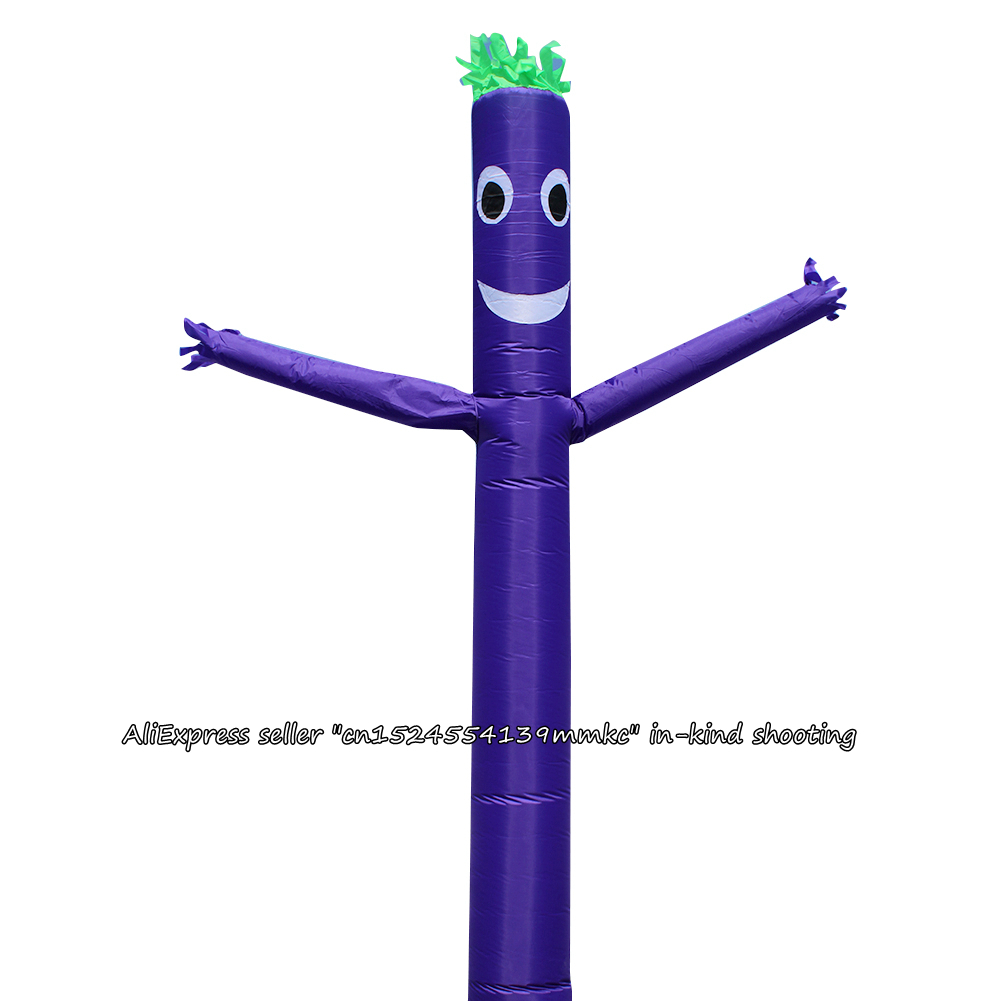 Air Dancer Sky Dancer Inflatable Tube Dance Puppet Wind Flying 10ft For 12inch Blower (Dark Purple)Air Dancer Sky Dancer Inflatable Tube Dance Puppet Wind Flying 10ft For 12inch Blower (Dark Purple)